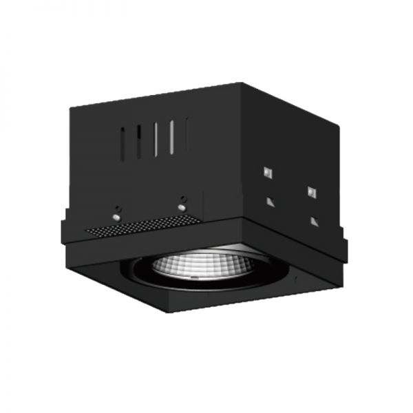 1x25W LED Recessed grille light RR1139B
